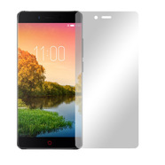 "2 x Slabo Displayfolie für Nubia Z11 Displayschutzfolie Zubehör (verkleinerte Folien, aufgrund der Wölbung des Displays) ""Crystal Clear"" KLAR - MADE IN GERMANY"