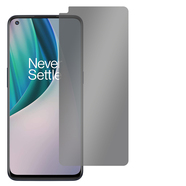 "Slabo Blickschutzfolie für OnePlus Nord N10 Sichtschutz Displayschutzfolie (verkleinerte Folien, aufgrund der Wölbung des Displays) ""View Protection"" Schwarz - privacy MADE IN GERMANY"