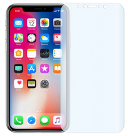 "1 x Slabo screen protector iPhone X FULL COVER screen protection film protectors ""Crystal Clear"" invisible MADE IN GERMANY"