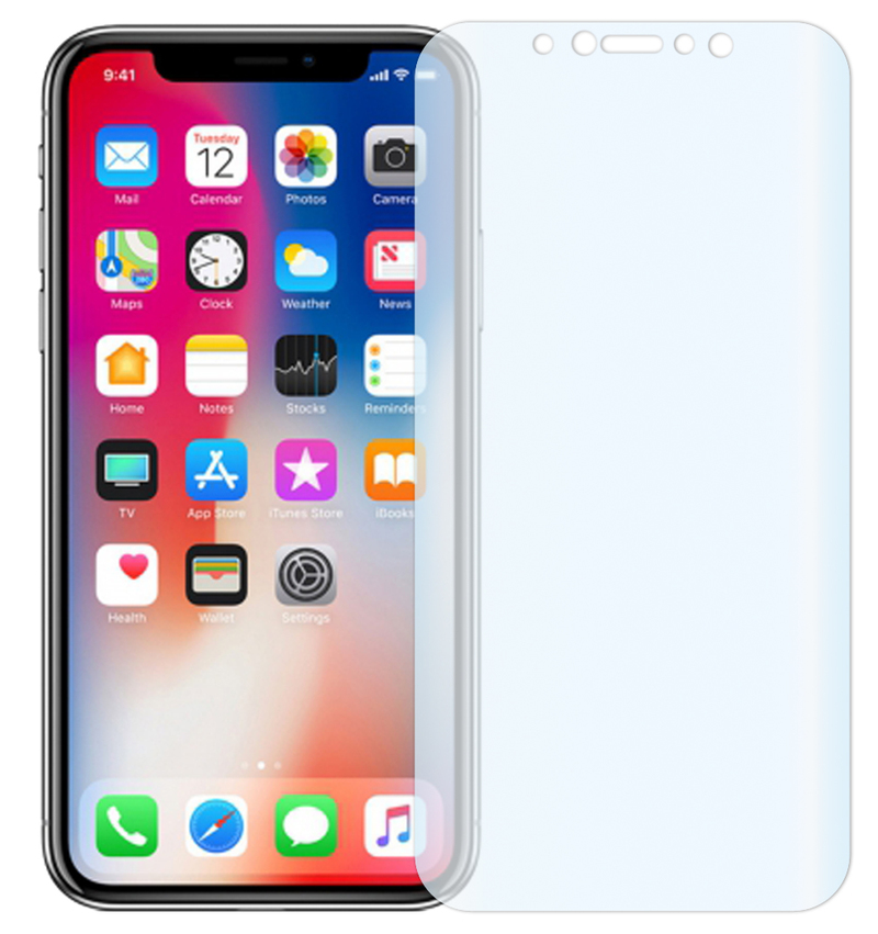 "2 x Slabo FULL COVER screen protector iPhone X | iPhone XS | iPhone 11 Pro screen protection film protectors ""Crystal Clear"" invisible MADE IN GERMANY"