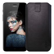 "Slabo Case for Neffos N1 Protective Cover ""PU-Leather"" - BLACK 