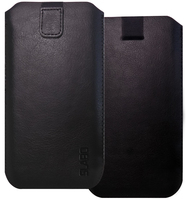 "Slabo Case for TCL PLEX Protective Cover ""PU-Leather"" - BLACK 